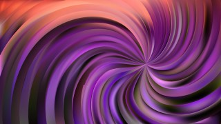 Abstract Purple and Black Swirl Background Illustration