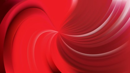 Abstract Red Swirl Background Image