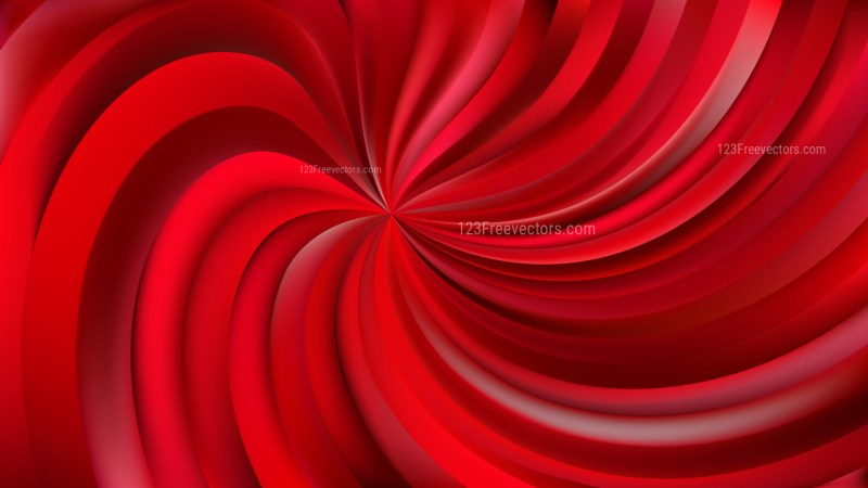 Abstract Red Swirl Background