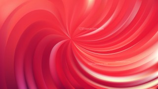 Abstract Red Swirl Background Vector Illustration