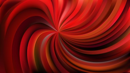 Cool Red Swirl Background