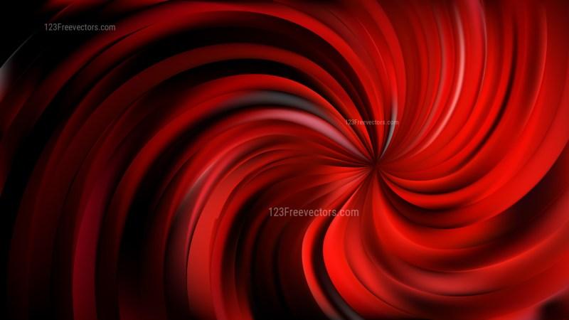 Cool Red Swirl Background Design