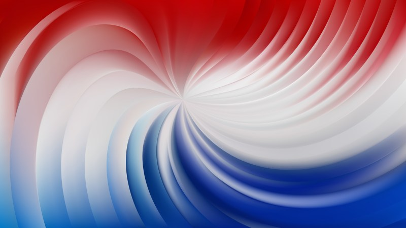 Abstract Red and Blue Spiral Background Image