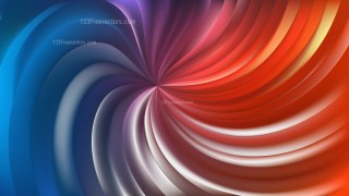 Abstract Red and Blue Swirl Background