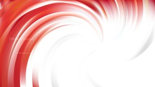 Abstract Red and White Swirl Background Vector Art