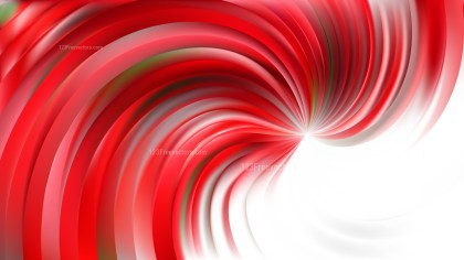 Abstract Red and White Swirl Background Illustration
