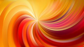 Abstract Red and Yellow Swirl Background Vector Image