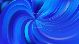 Abstract Royal Blue Swirl Background