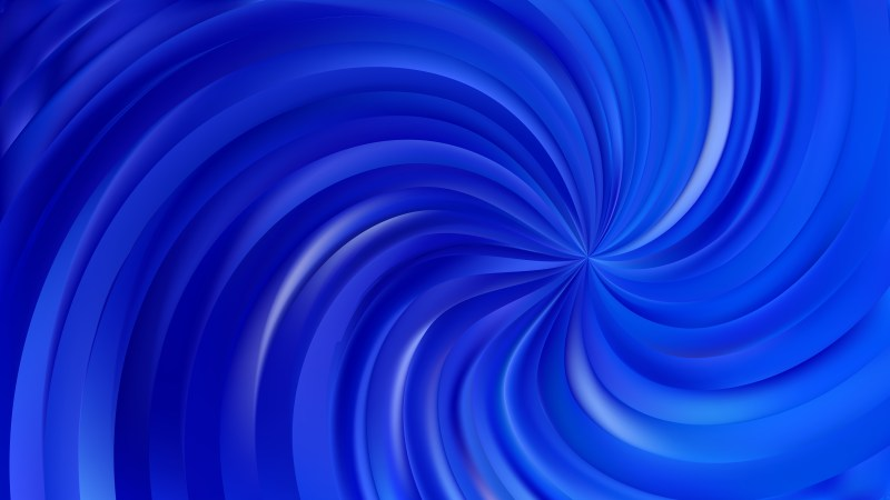 Abstract Royal Blue Swirl Background Vector Art