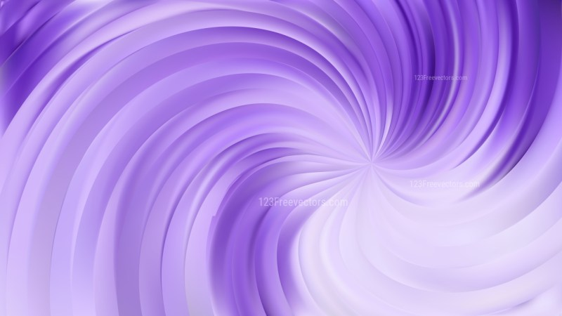 Abstract Violet Swirl Background Illustration