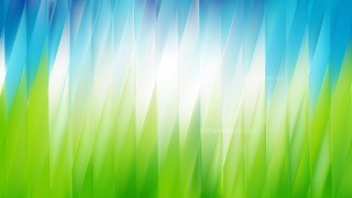 Blue and Green Background Vector Image