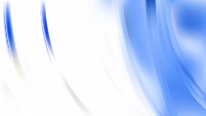Blue and White Abstract Background Image