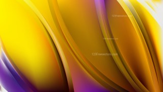 Abstract Blue and Yellow Background Design