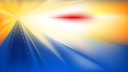 Blue and Yellow Abstract Background Image