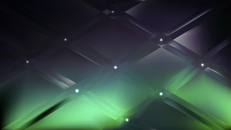 Green and Black Background Illustration