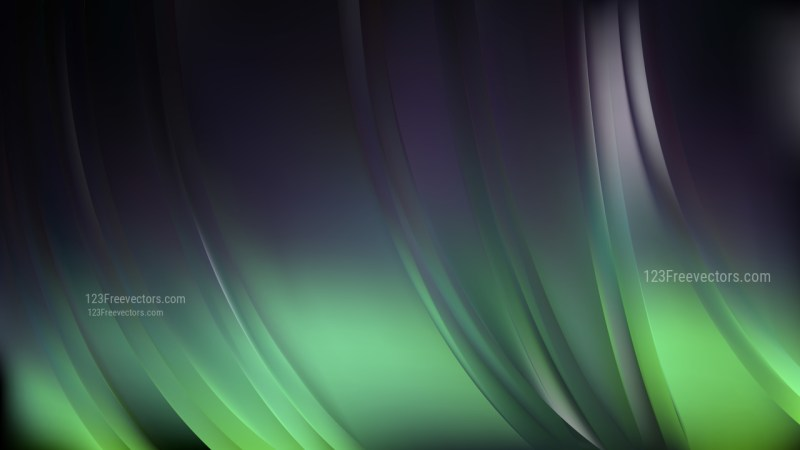 Green and Black Abstract Background Image