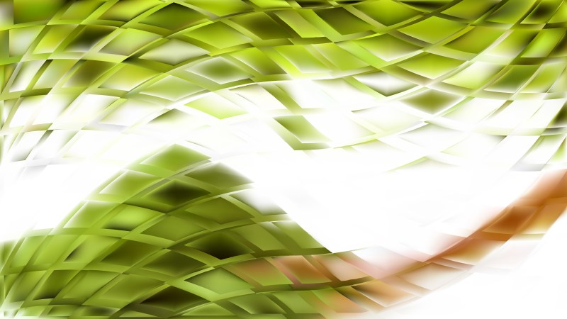Green and White Abstract Background Vector Art