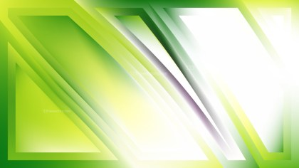 Green and White Abstract Background Vector Image