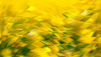 Green and Yellow Abstract Background Vector Illustration