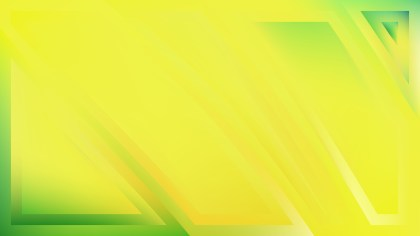 Green and Yellow Abstract Background Image
