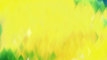 Abstract Green and Yellow Background Vector
