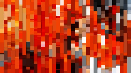 Orange Abstract Background Vector Art