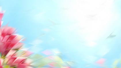 Pink and Blue Abstract Background Illustration