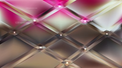 Pink and Brown Background Vector Image