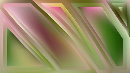 Abstract Pink and Green Background Graphic
