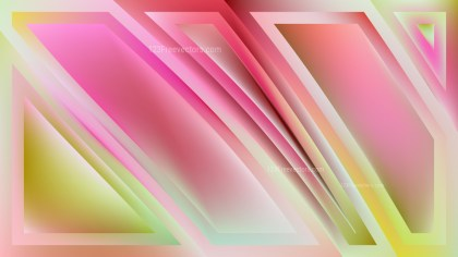 Abstract Pink and Green Background