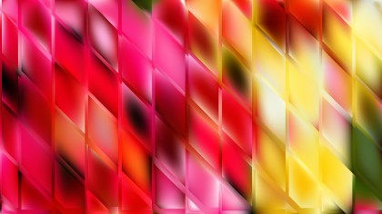 Pink and Yellow Abstract Background Illustration