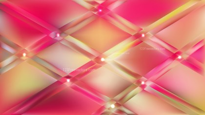 Pink and Yellow Abstract Background Vector Illustration