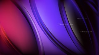 Purple and Black Background Vector Image