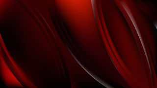 Cool Red Abstract Background Illustration