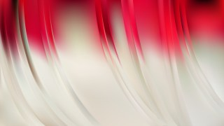 Red and White Abstract Background Illustration