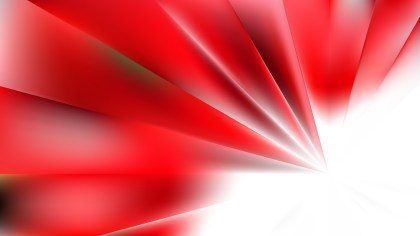 Red and White Abstract Background Vector Illustration