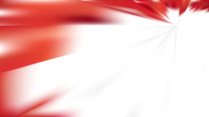 Red and White Abstract Background Vector Art