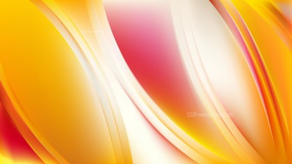 Red and Yellow Abstract Background Illustration