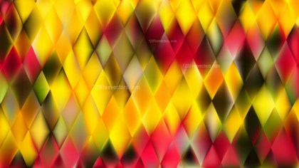 Red and Yellow Abstract Background Vector Art