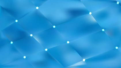 Abstract Blue Bokeh Lights Background Vector Graphic