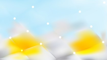 Blue and Yellow Lights Background Illustration