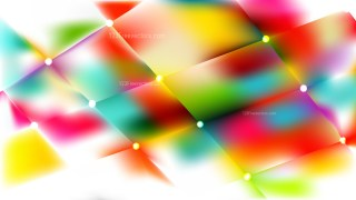 Abstract Colorful Lights Background Illustration