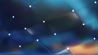 Dark Blue Lights Background Vector Illustration