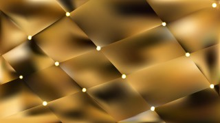 Abstract Gold Bokeh Lights Background Vector