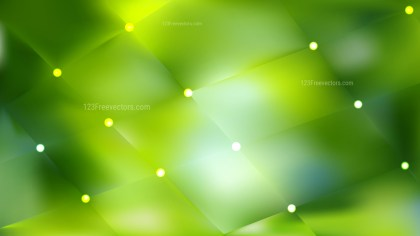 Green Bokeh Lights Background