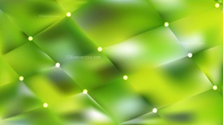 Abstract Green Bokeh Lights Background