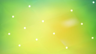 Abstract Green and Yellow Lights Background