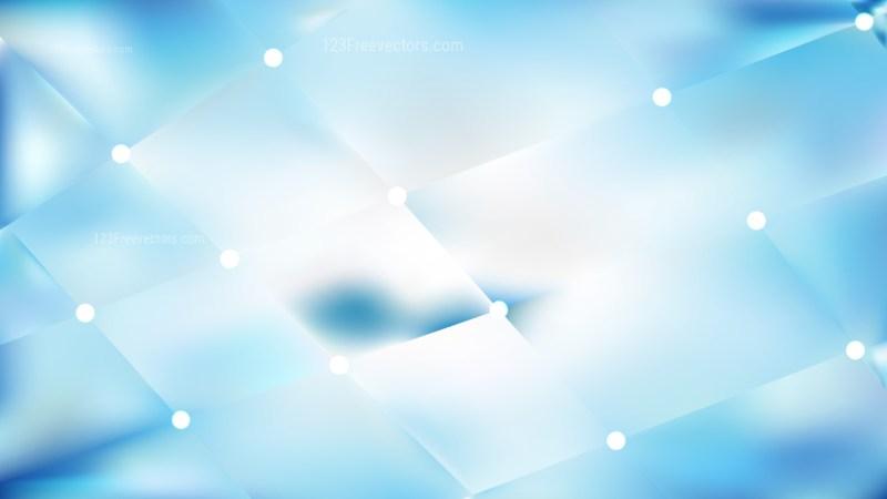 Abstract Light Blue Bokeh Lights Background