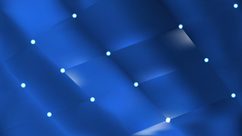 Abstract Navy Blue Bokeh Lights Background