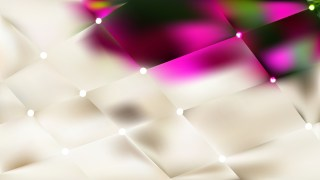 Pink and Beige Bokeh Lights Background